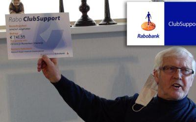 Rabobank ClubSupport doneert €741,55